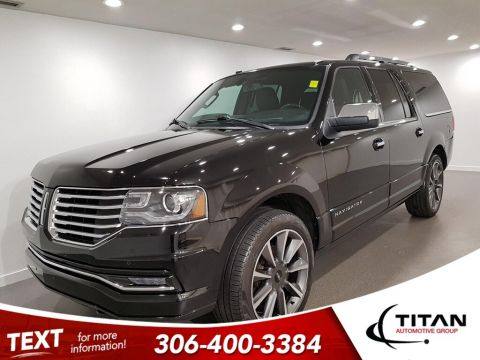 Pre-Owned 2017 Lincoln Navigator Reserve L 7 Pass 4x4 V6 CAM NAV Leather Sunroof