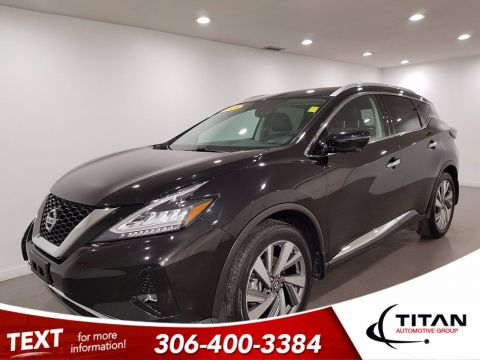 Pre-Owned 2019 Nissan Murano SL AWD V6 | Leather | Sunroof | Navigation