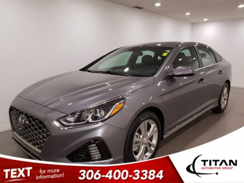 Pre-Owned 2019 Hyundai Sonata Sport|CAM|Rims|Htd Seats|Sunroof