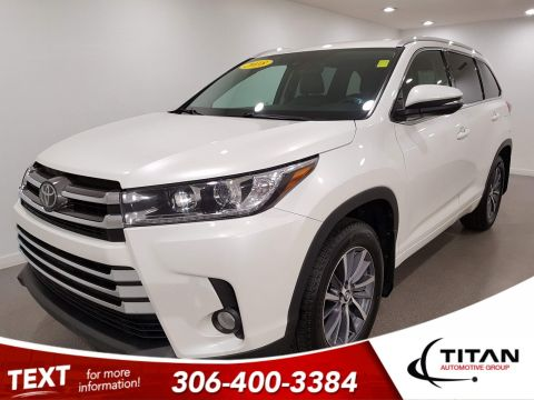 Pre-Owned 2018 Toyota Highlander SE|AWD|V6|Leather|CAM|NAV|Rims