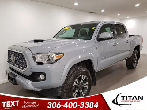 Pre-Owned 2018 Toyota Tacoma Sport Double Cab V6 | Leather | Sunroof | Navigation