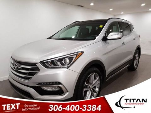 Pre-Owned 2018 Hyundai Santa Fe Sport SE AWD CAM Leather Alloys