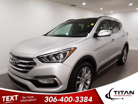 Pre-Owned 2018 Hyundai Santa Fe Sport Sport AWD CAM Leather Alloys