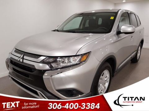 Pre-Owned 2019 Mitsubishi Outlander ES AWD | Heated Seats | Back-up Camera