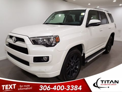 Pre-Owned 2017 Toyota 4Runner Limited|4x4|V6|CAM|NAV|Leather
