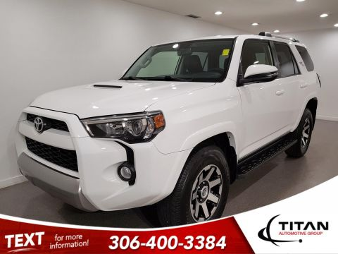 Pre-Owned 2018 Toyota 4Runner TRD Off-Road V6 | Leather | Sunroof | Navigation