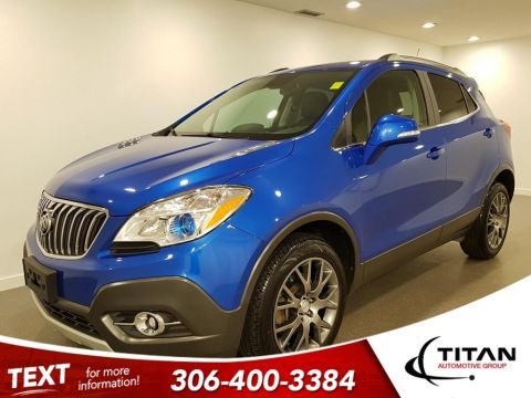 Pre-Owned 2016 Buick Encore Sport Touring AWD CAM NAV Low KMS Leather