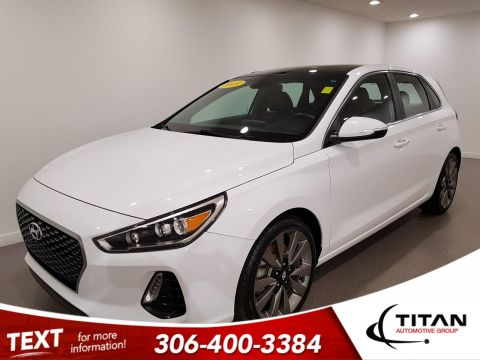 Pre-Owned 2018 Hyundai Elantra GT GT|6spd|CAM|Leather|Rims|Htd Seats