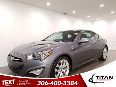 Pre-Owned 2016 Hyundai Genesis Coupe Premium V6 CAM NAV Alloys Htd Seats Leather Sunroof