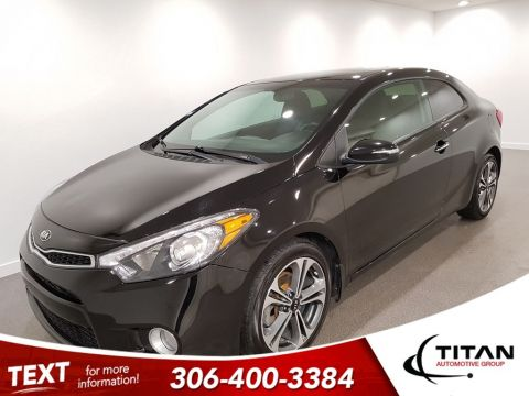 Pre-Owned 2016 Kia Forte Koup CAM Bluetooth Sunroof HTD Seats Alloys