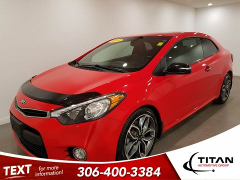 Pre-Owned 2015 Kia Forte Koup | Leather | Sunroof | Navigation
