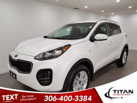 Pre-Owned 2019 Kia Sportage LX AWD CAM Htd Seats Alloys