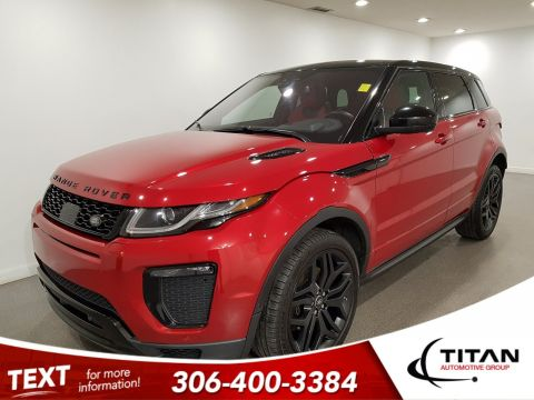 Pre-Owned 2017 Land Rover Range Rover Evoque HSE Dynamic AWD | Navigation | Back-up Camera