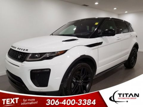 Pre-Owned 2016 Land Rover Range Rover Evoque HSE Dynamic Si4 AWD Meridian Leather NAV