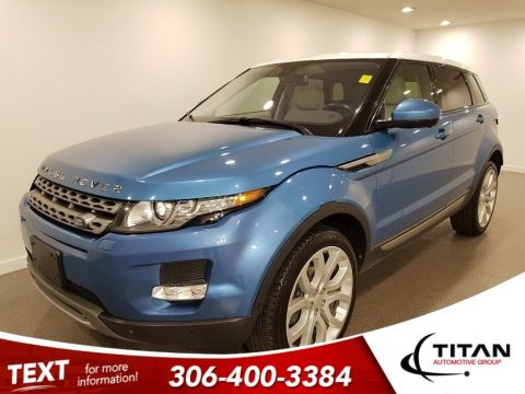 Pre-Owned 2014 Land Rover Range Rover Evoque Pure Plus 2.0L Turbo AWD CAM NAV Htd Leather Glass Roof