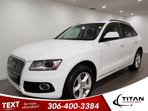 Pre-Owned 2017 Audi Q5 AWD Leather Htd Seats Alloys