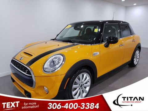 Pre-Owned 2015 MINI Cooper Hardtop 5 Door S | Leather | Sunroof | Navigation