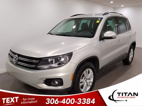 Pre-Owned 2014 Volkswagen Tiguan AWD | Heated Seats
